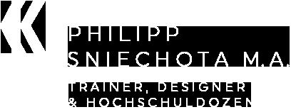Philipp Sniechota B.A. - Trainer, Speaker & Designer